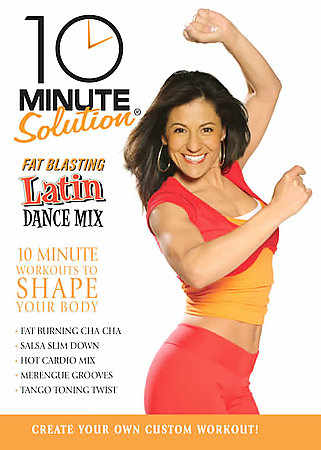 10 MINUTE SOLUTION:LATIN DANCE MIX BY SANDOVAL,STELLA (DVD)